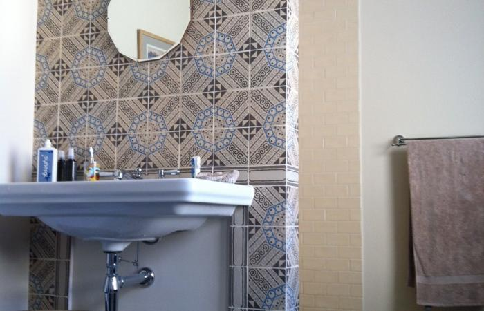 Practical functionality meets superb visual harmony in this central London bathroom
