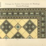 Catalogue page showing the Maubeuge border tile