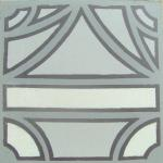 Border tile, which is laid back to back in floor layout